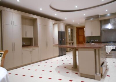 The Kitchen Painter Cheam red tiled floor