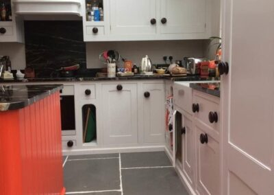 The Kitchen Painter Cheam red island